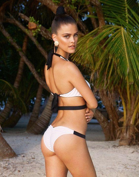 NINA AGDAL FOR BEACH BUNNY SWIMWEAR SPRING 2014
