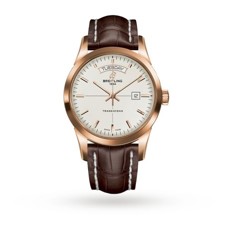 Mens Watches - Breitling Transocean Mens Watch - R4531012/G752