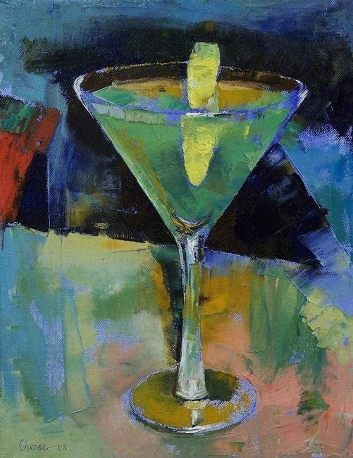 craft painting ideas apple martini painting martini paintingd 1603