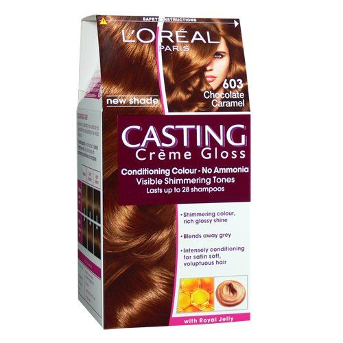 loreal casting creme new shade chocolate caramel 603 loreal httpwwwamazoncoukdpb00cplxd6krefcm_sw_r_pi_dp_dy1ytb0kqrv4wrmf hair color - Gloss Color L Oral Professionnel