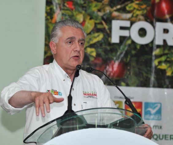 Como gobernador daré un fuerte impulso al campo: Enrique Serrano   El Puntero