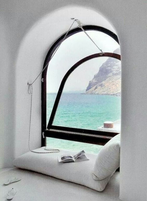 Love to have this relaxing corner
