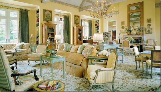 Color Outside the Lines: My 50 Favorite Living Rooms: Part One: