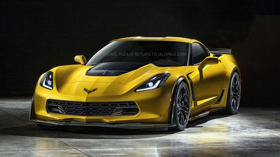 Jalopnik Shows Off Pictures Of The New 2015 Corvette Z06
