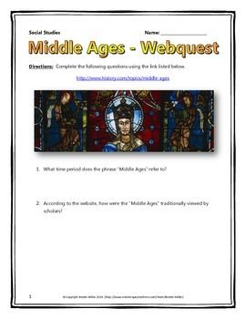 This 8 page document contains a webquest and teachers key ...