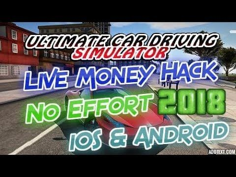 Ultimate Car Driving Simulator Money Hack Ios Android 2018 How