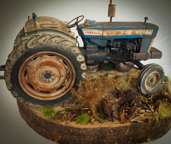 Ford 5000 In 2020 Tractors Vehicles Diorama
