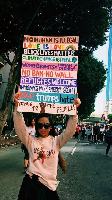 Donate To The Aclu Feminism Human Rights Protest Signs