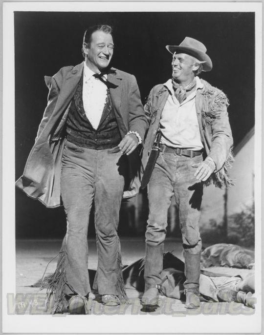 JWB03 Vintage Promotional Set Photo JOHN WAYNE The Alamo Davy Crockett Widmark