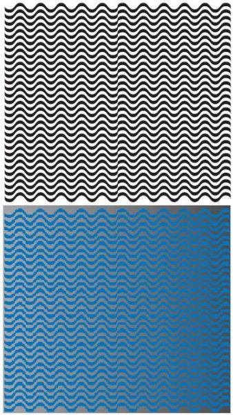 Ejemplo sobre cómo se tiene mejor percepcion del color para el diseño. Web carmenhevia.es