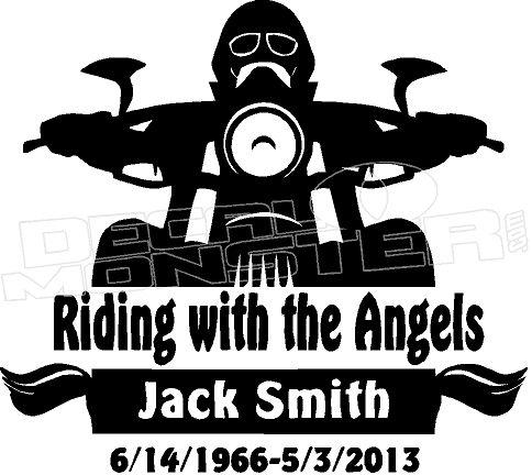 In Loving Memory Catholic Motorcycle 15 Memorial Decal Sticker Memorial Decals Loving Memory Car Decals In Loving Memory Quotes