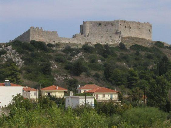 kastro chlemoutsi  my favorite village Kastro Chlemoutsi ...