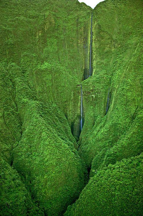 Mesmerizing Honokohau Falls in Maui