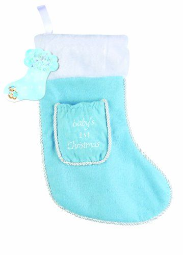 Baby's 1st Christmas Stocking (Blue) « Game Searches