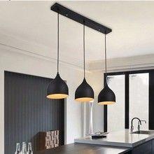 Tienda Online LukLoy3 lámparas de techo colgantes modernas para la cocina luces colgantes Led lámpara colgante iluminación colgante Led | Aliexpress móvil