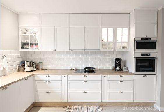 Biala Kuchnia Klasyczna Darex Szczecin White Modern Kitchen Kitchen Design Small Kitchen