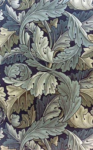 William Morris, acanthus leaf wallpaper