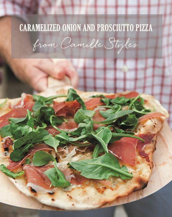 friends style delicious recipes prosciutto prosciutto pizza home ...