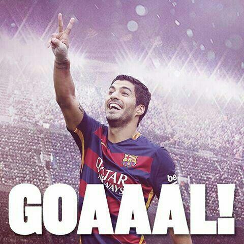 GOOOOOOOOAAAAAAAAL @luissuarez9  FC Barcelona vs Eibar (2-1) Força Barça! #FCBEibar #FCBLive #LaLiga