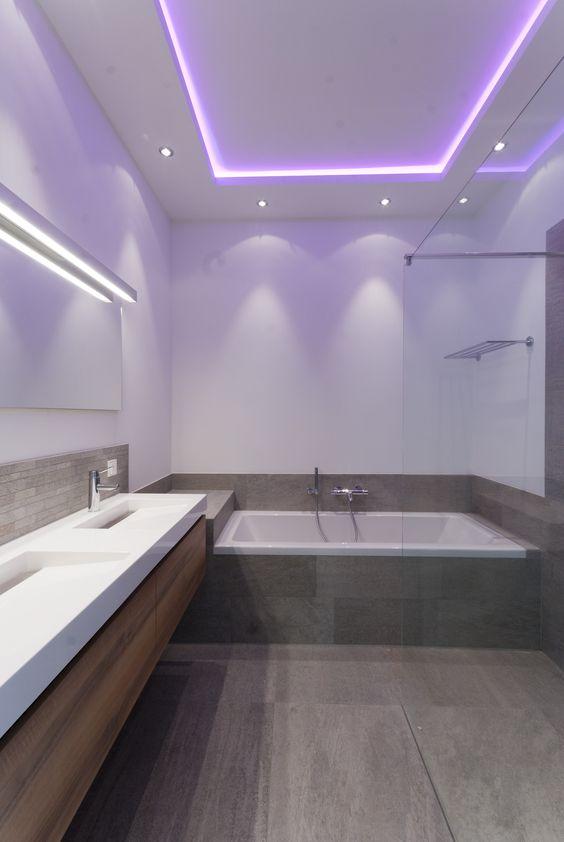 Eglo LED Fres 2 vierkante wand-plafondlamp. Bestel uw Badkamerlampen ...