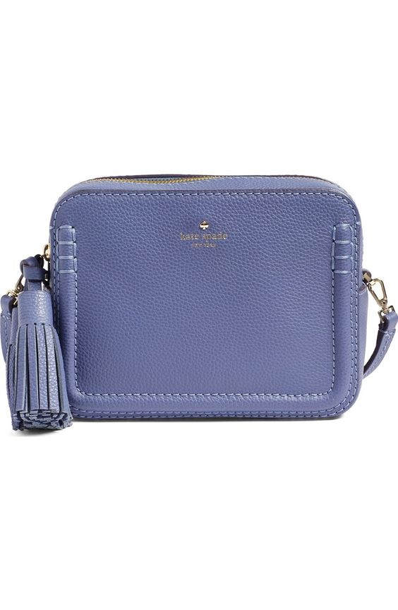 Kate Spade Orchard Street Arla crossbody bag in Oyster Blue