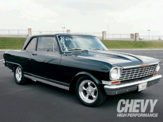 Black Chevy II Nova