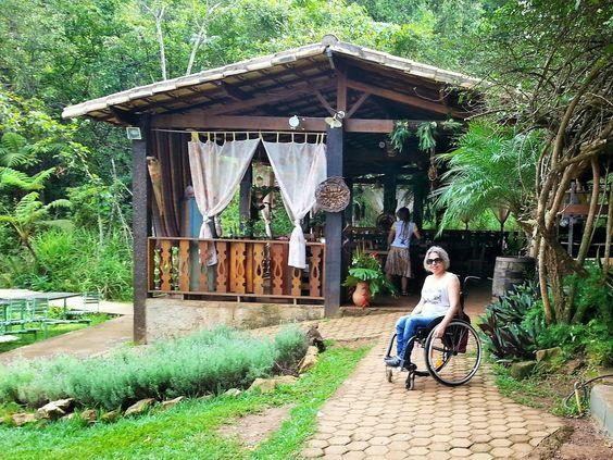A cadeira voadora: Verde Folhas pousada e restaurante (MG) – acessibi...