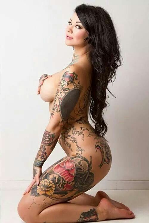 Nude tattoo amature women — photo 11