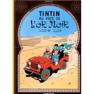 AVENTURES DE TINTIN T15 LES : TINTIN AU PAYS DE L'OR NOIR: Amazon.ca: HERGÉ: Livres en français