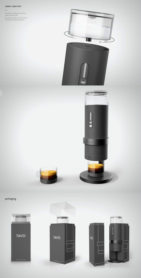 THE COFFEE MAKER WITH A HOT BOD Read Full Story at Yanko Design YD Kitchen Pinterest The ...