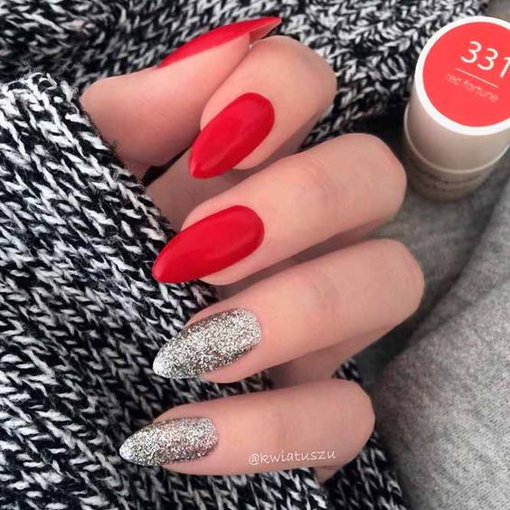 2019 Creative and Beautiful Almond Nails Ideas