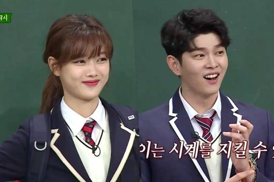"Watch: Kim Yoo Jung And Yoon Kyun Sang Are Ready To Charm The Cast Of ""Ask Us Anything"""