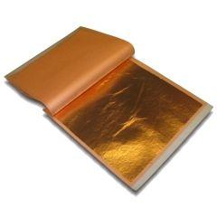 Copper leaf. L.A. Gold Leaf Wholesaler » GNCL-BK00025