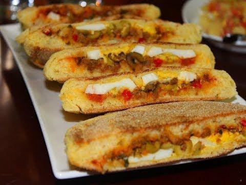 236 مائدة فطور صباحي لذيذ مطلوع معمر بحشوة البيتزاحسوة او حريرة بيضاء Youtube Hot Dog Buns Youtube Food
