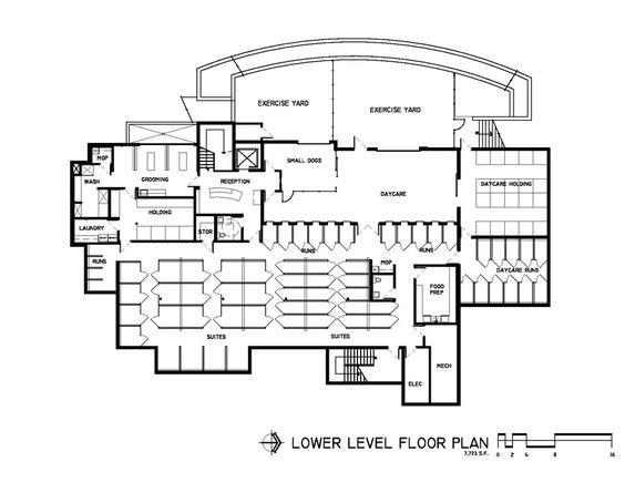 Caring Hands Veterinary Hospital in Thornton, Colorado: first floor | Hospital Design