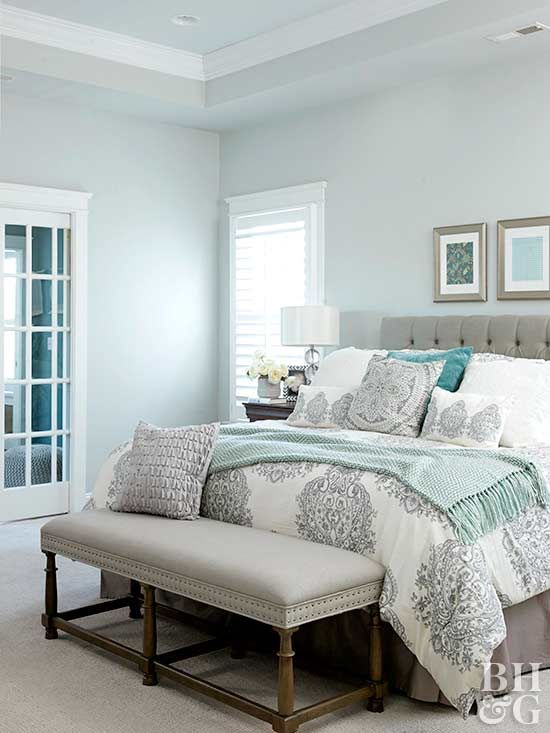 Classic Color Schemes That Never Go Out Of Style Blue Master Bedroom Rustic Master Bedroom Gray Master Bedroom