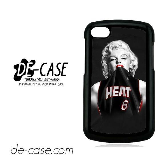Merlyn Monroe Heat For Blackberry Q10 Case Phone Case Gift Present YO