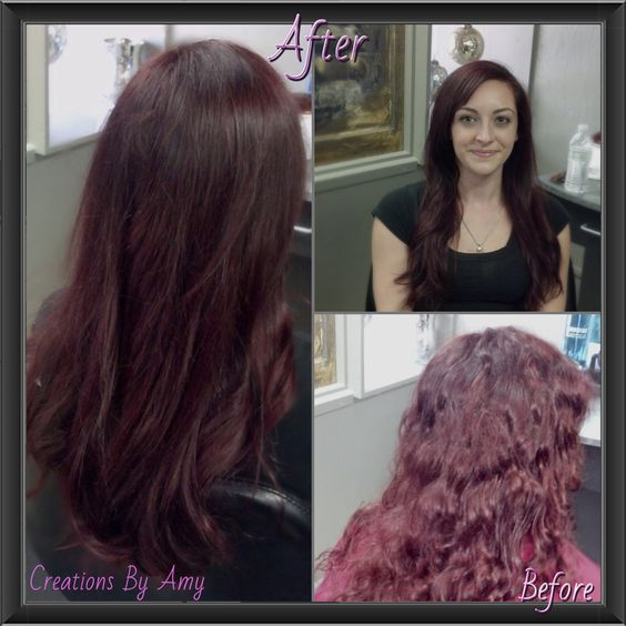 From home color red...to multi-dimensional, professional red. Almost make me want red again!