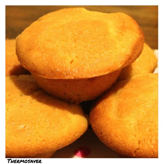 Crunchy Lemon and Ginger muffins