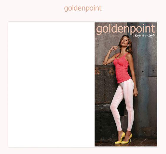 Goldenpoint | Catalogo Leggings PE 2014
