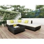Sonax PT-501 Russet Brown 4 Piece Patio Lounge Set