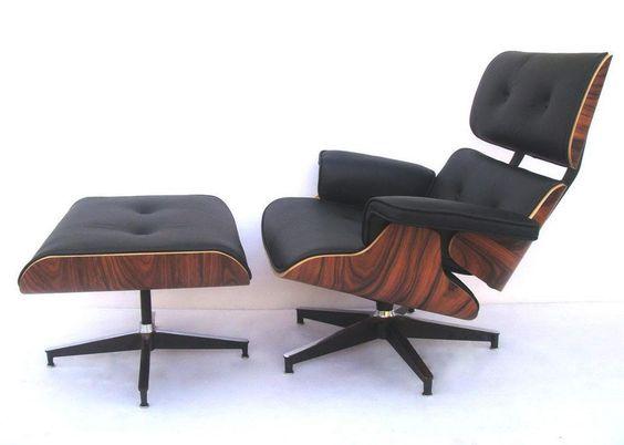 Black & Walnut Eames Lounge