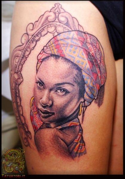 tatuaggio volto africano - Cerca con Google