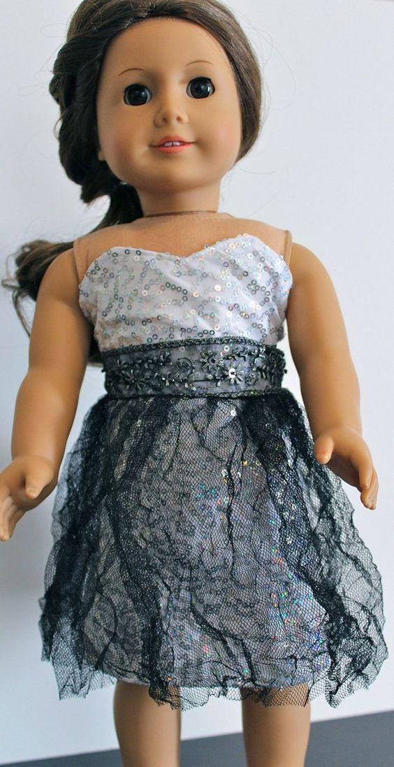 american girl doll prom dresses | Winter Formal Dress For American Girl Doll by TheLittlestFrockShop, $ ...