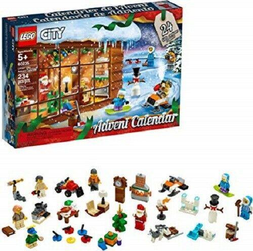 Lego City Advent Calendar 60235 Building Kit New 2019 234 Pieces