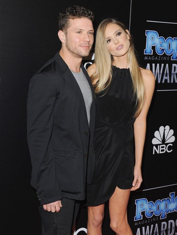 Pin for Later: 29 Engaged Celebrity Couples We Can't Wait to See Tie the Knot Ryan Phillippe and Paulina Slagter