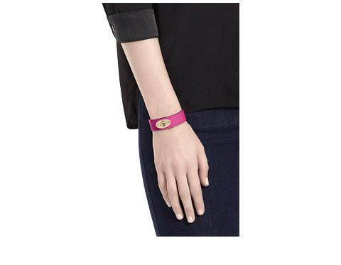 Mulberry - Bayswater Bracelet in Mulberry Pink Glossy Goat