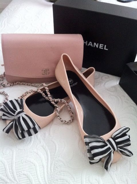 PVC CHANEL SHOES