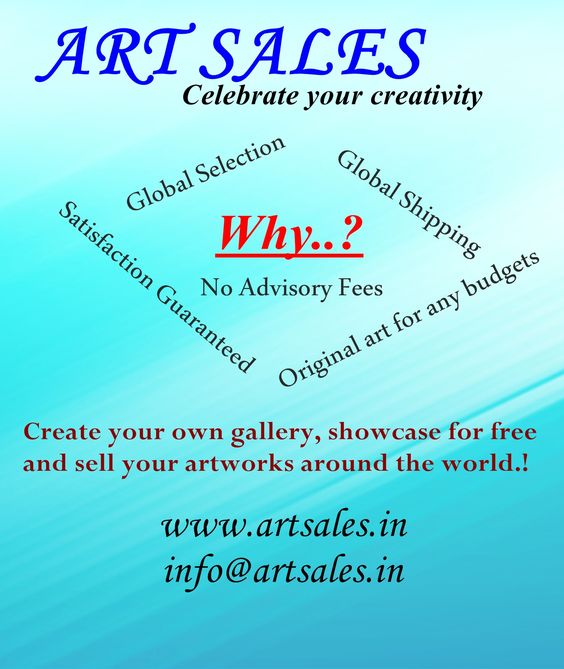 Visit and sign inhttp://www.artsales.in/