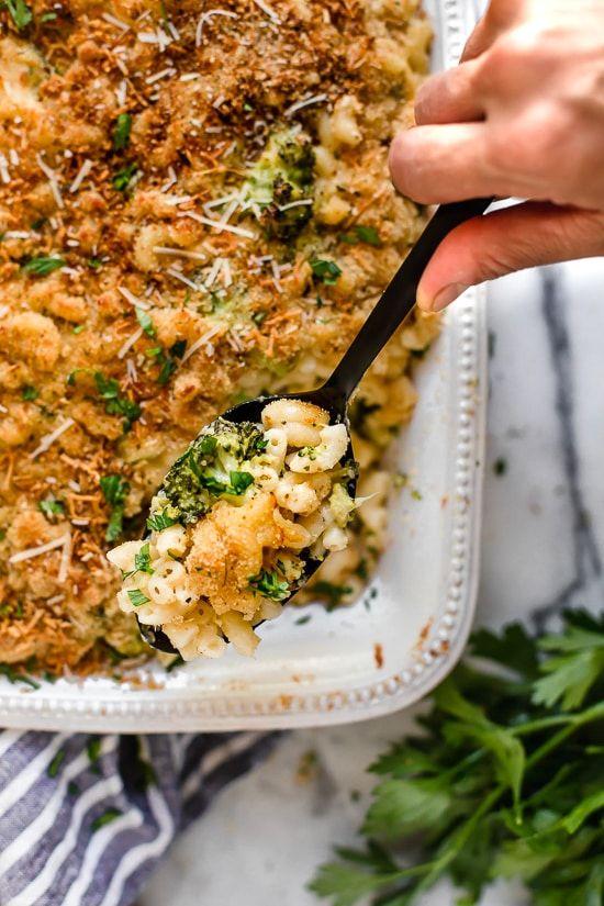 Skinny Baked Broccoli Macaroni And Cheese Recipe